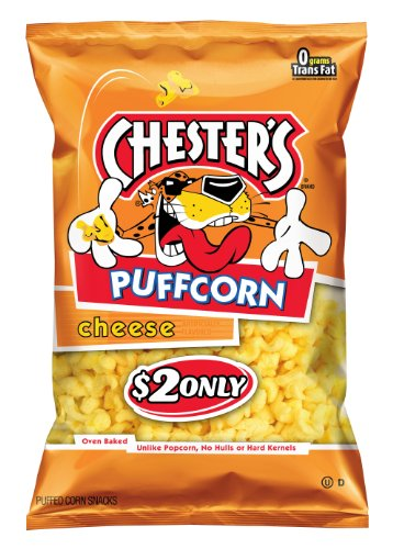Chester's Puffcorn Snacks, Cheese, 4.5 Ounce ()