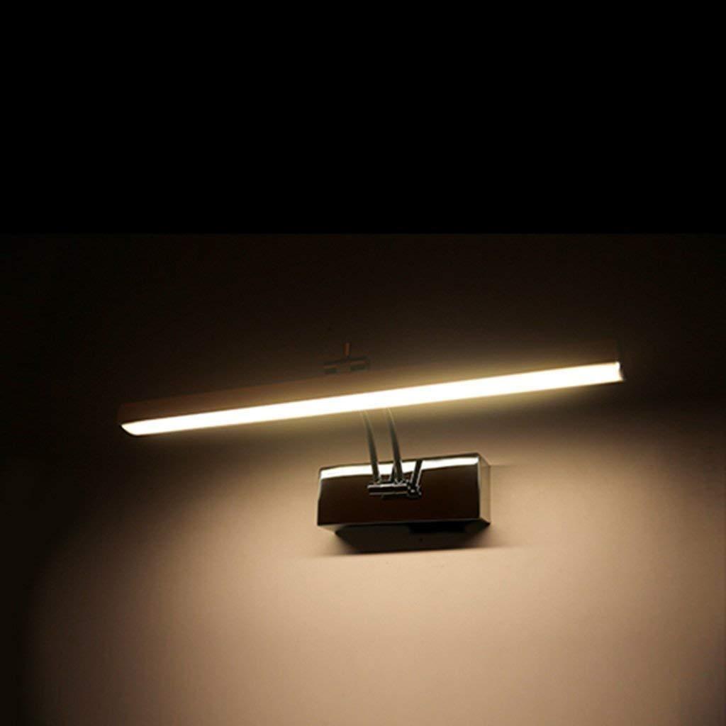 Warm Weiß-58cm Mirror Lamps Home Spiegellampen LED-Spiegelscheinwerfer (Farbe   Warm Weiß-58cm)