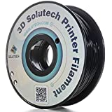3D Solutech Real Black 3D Printer PLA Filament 1.75MM Filament, Dimensional Accuracy +/- 0.03 mm, 2.2 LBS (1.0KG) - 100% USA