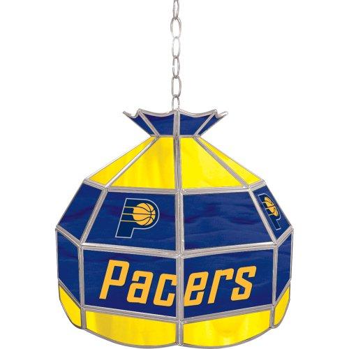 NBA Indiana Pacers Tiffany Gameroom Lamp, 16