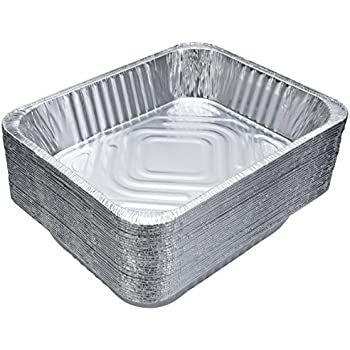 Amazon Com Aluminum Foil Pans 15 Piece Full Size Deep