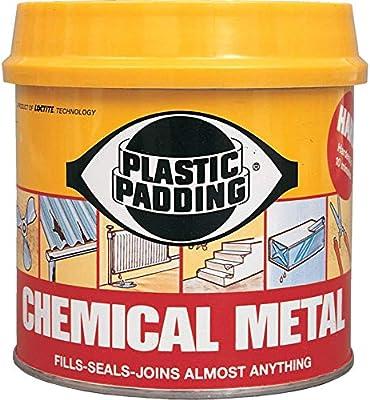 plastic padding metall