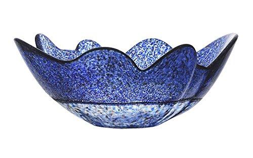 - Kosta Boda Organix Bowl, Stormy Blue, Large