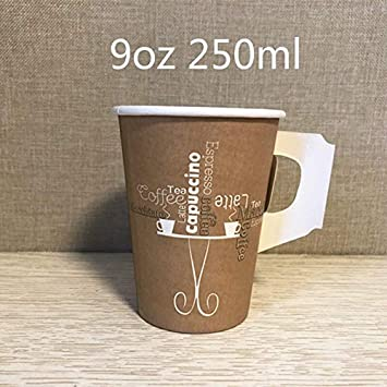 Vasos de Papel desechables100pcs Creative Disposable Taza De ...