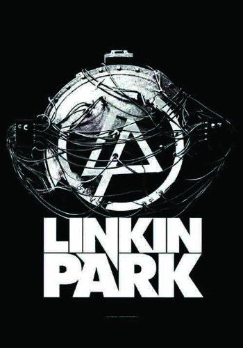 Lpgi Linkin Park Atomic Age Fabric Poster