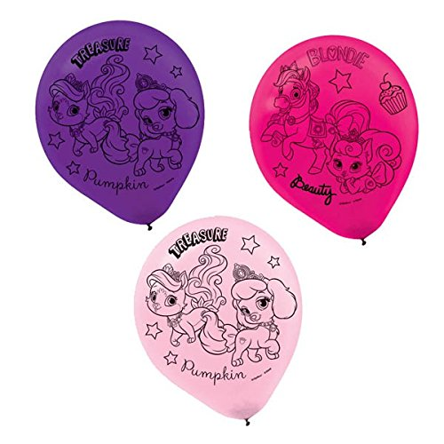 Latex Balloons | Disney Palace Pets Collection | Party Accessory -
