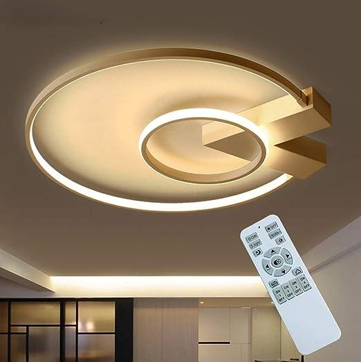 Modern LED Wohnzimmer Deckenlampe 35W Dimmbar Schlafzimmer ...