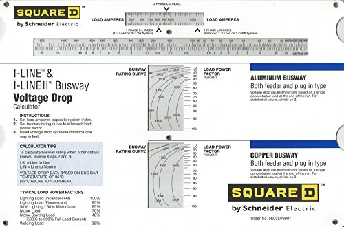 Wire Sizing Charts - Wire Voltage Drop Slide Chart