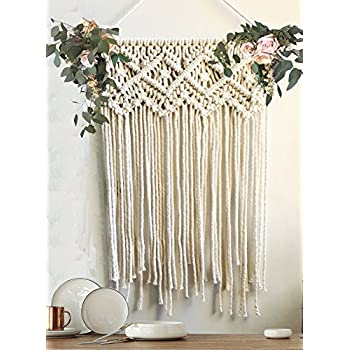 Macrame Wall Hanging Wedding Ceremony Backdrop Home Decor 16 Wx 22 L