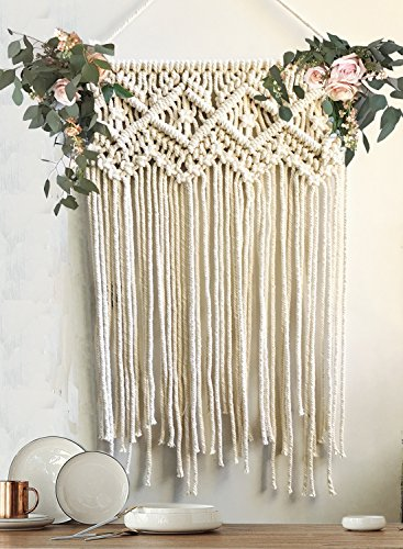 Macrame Wall Hanging Wedding Ceremony Backdrop Home
