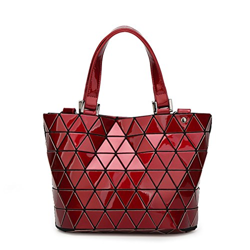 Small Red taglia BLACKHEI unica donna Small Borsa a mano Luminous xW8wqBpS