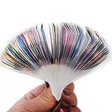 29PCS mix Color Rolls Striping Tape Metallic Yarn Line Glue Adhesive Stick Strip Nail Art Decoration Sticker Decal