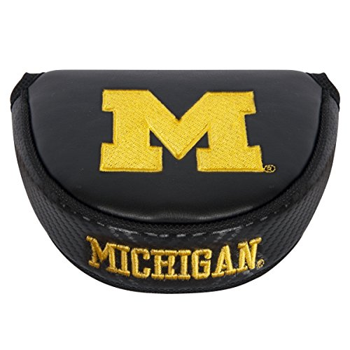 - Team Effort NCAA Michigan Wolverines Mallet Putter Coverblack Mallet Putter Cover, Black, NA