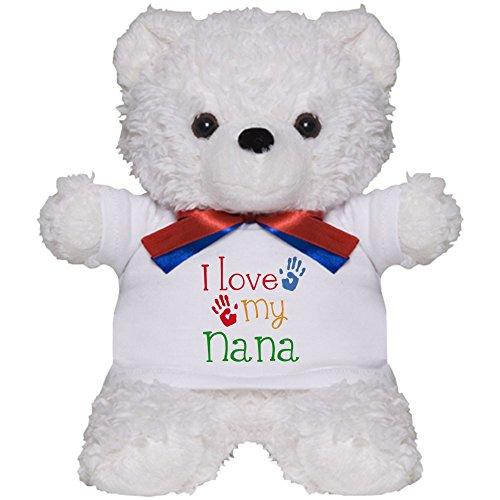 CafePress - I Love Nana - Teddy Bear, Plush Stuffed (Nana Teddy Bear)