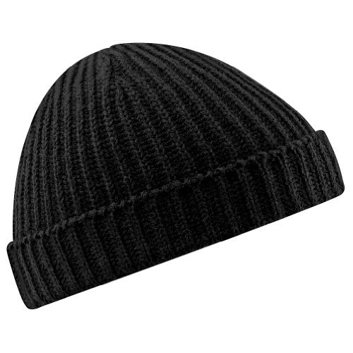 Beechfield Trawler Beanie Black O/s (Best Trawler For The Money)