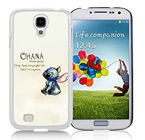 New Fashion Custom Designed Cover Case For Samsung Galaxy S4 I9500 i337 M919 i545 r970 l720 With Ohana White Phone Case