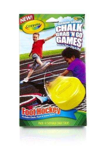 Crayola Foot Hockey Chalk Games