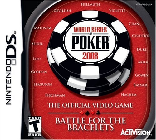 World Series of Poker 2008: Battle for the Bracelets - Nintendo DS