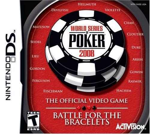 World Series of Poker 2008: Battle for the Bracelets - Nintendo DS (Series World 2008)