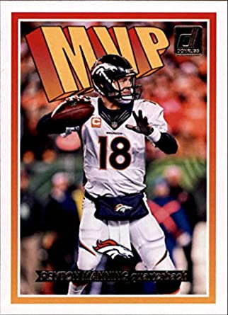 2018 Donruss MVP Football Card  5 Peyton Manning NM-MT Denver Broncos  Official NFL 1482f562a