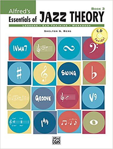 Book Alfred's Essentials of Jazz Theory, Bk 3 (Book and CD)
