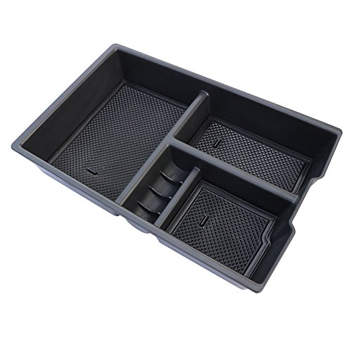 Addition Center (Car Center Console Organizer Tray Storage Box for Dodge Ram 1500 Accessories 2009-2018(Full Console w/ Bucket Seats ONLY))