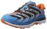 HOKA ONE ONE Men's Speedgoat Shoe (10.5, Blue/Red Orange)