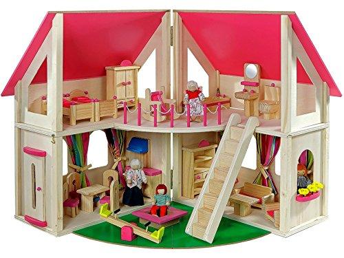 Howa casa delle bambole 7013: amazon.it: giochi e giocattoli