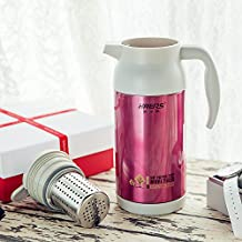 Water Bottle For Travelling Fishing Car Driving, Stainless Steel Kettle , Warm , 1200Ml Thermos Jug