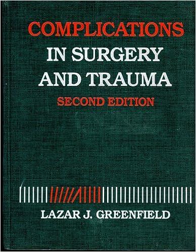 Descargar libros de ipodComplications in Surgery and Trauma (Spanish Edition) PDF ePub MOBI 0397509049