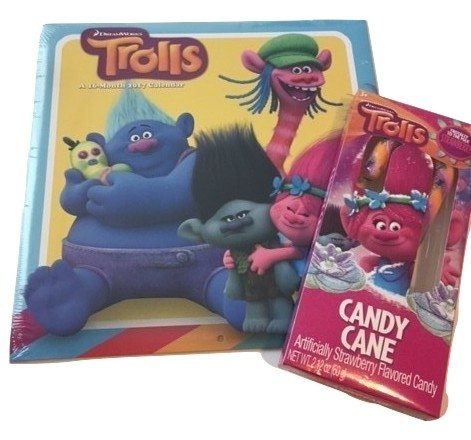 Trolls DreamWorks 16 Month 2017 Calendar - Pad Coupe Light Shopping Results