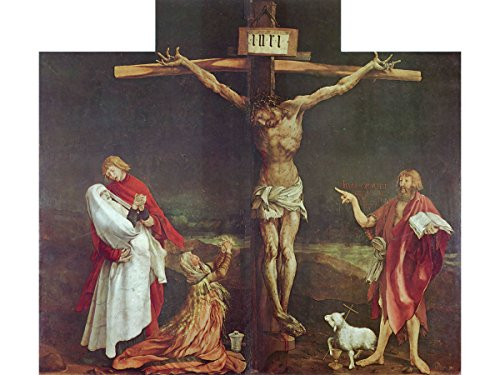 (The Crucifixion (Detail from The Isenheim Altarpiece) by Matthias Grünewald )