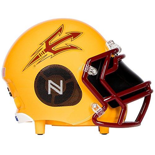 Nima Athletics NCAA Football Arizona State Sun Devils Wireless Bluetooth Speaker. Officially Licensed Portable Helmet Speaker by NCAA College Football - Small - Arizona State Tailgate