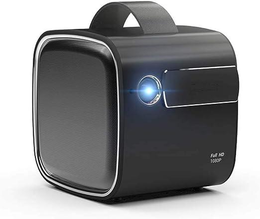 Proyector R4 mini1080P HD 4K WiFi inalámbrico Proyección de Cine en casa móvil Inteligente Android Apple sin Pantalla TV proyector Micro portátil: Amazon.es: Hogar