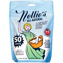 Nellie's NLS-50 All Natural Laundry Soda, 50 Load Bag