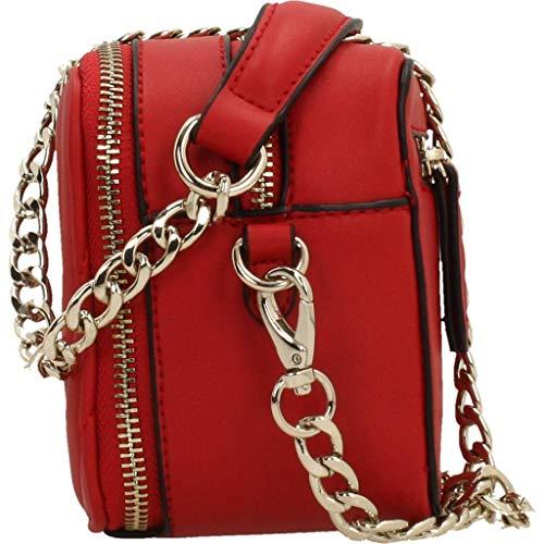 Valentino Vbs2zo01 Bandolera Rosso Bolso Mujer Para Rojo nWRUnB6