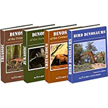 Dinosaurs: Triassic, Jurassic, Cretaceous &  Bird Dinosaurs (Dinosaur 4-Pack Picture Books (Vols 1-4) Book 1)