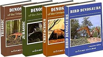 Dinosaurs: Triassic, Jurassic, Cretaceous & Bird Dinosaurs (Dinosaur 4-Pack Picture Books (Vols 1-4)) (English Edition) eBook: Willoughby, James, Series, Explore: Amazon.es: Tienda Kindle
