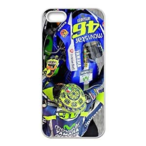 iphone5 5s White Valentino Rossi phone cases&Holiday Gift