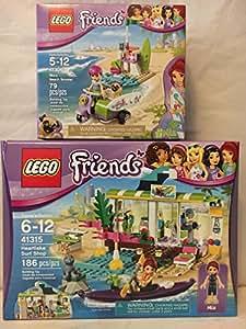 LEGO Friends Heartlake Surf Shop & LEGO Friends Mia's Beach Scooter