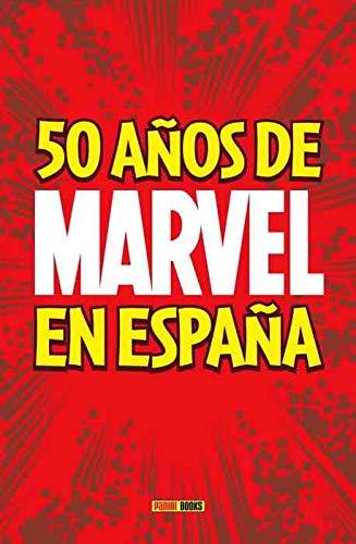 50 Años de Marvel en España: Amazon.es: Vv.Aa, Vv.Aa: Libros