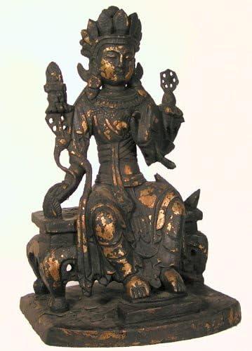 Tibetan brass gilt Religious rites handmade Buddhism Dakini Buddha statue