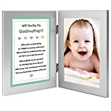 Will You Be My Godmother? Keepsake Frame - Add Baby Photo