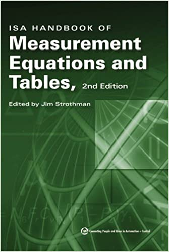 ISA Handbook of Measurement Equations and Tables 2nd Edition