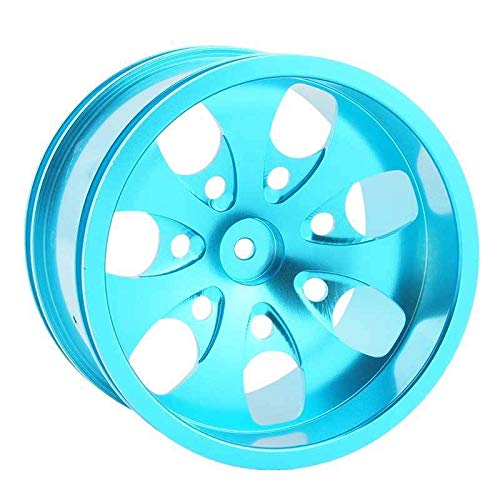 Toyoutdoorparts RC 08008N Alumiunm Blue Wheels 4pcs for RedCat 1:10 Nitro Volcano S30 Truck by Toyoutdoorparts (Image #2)