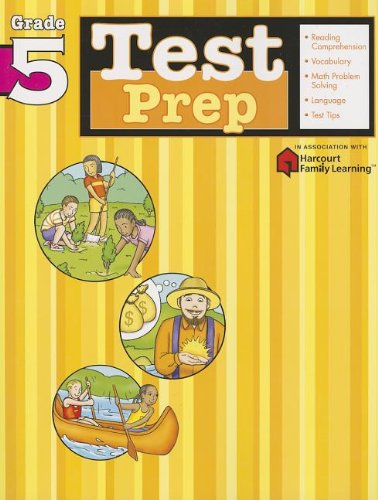 Test Prep  Grade 5  Flash Kids Harcourt Family Learning