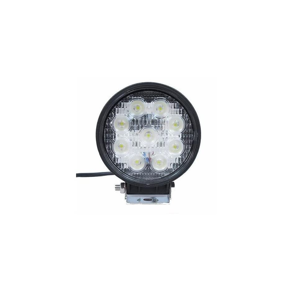 Signstek 27W Flood Light Headlight Work Light Lamp off Road High Power ATV Jeep 4x4 Tractor Truck Light Fog Driving Bar Rree Truck SUV Car Waterproof Dustproof Shockproof