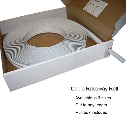 Computer Cable Rolls : Large surface cable raceway roll ft color