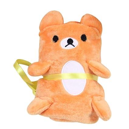 Bebé lindo Animal de la toalla de la felpa suave franela de empañar Wrap recién nacido