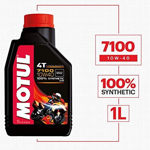 Motul 7100 4T 10W-40 Synthetic Oil (104091)
